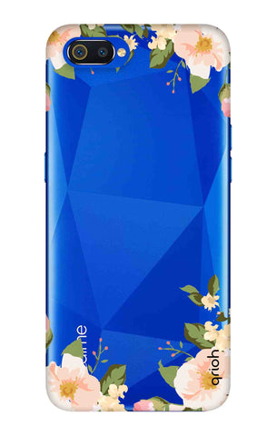 Flower In Corner Oppo Realme C2 Cases & Covers Online