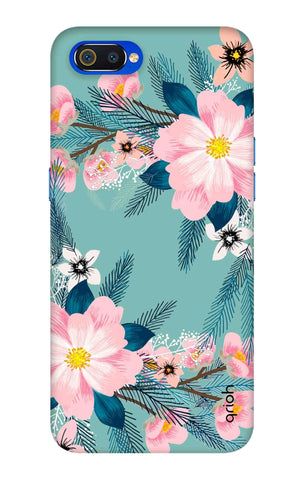 Graceful Floral Case Oppo Realme C2 Cases & Covers Online