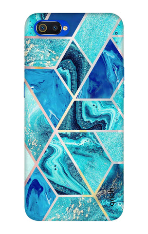 Aquatic Tiles Case Oppo Realme C2 Cases & Covers Online