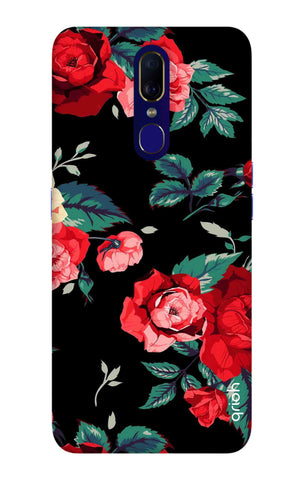Wild Flowers Oppo F11 Cases & Covers Online