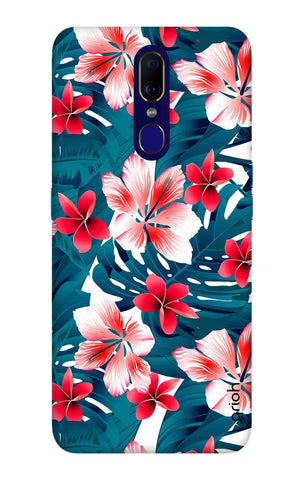 Floral Jungle Oppo F11 Cases & Covers Online