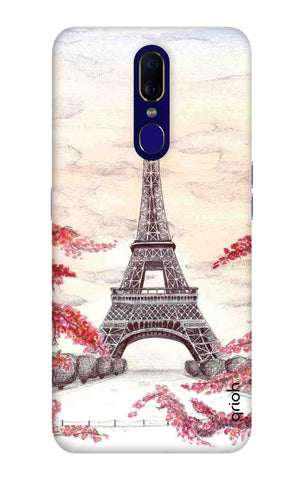 Eiffel Art Oppo F11 Cases & Covers Online