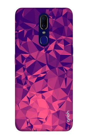 Purple Diamond Oppo F11 Cases & Covers Online