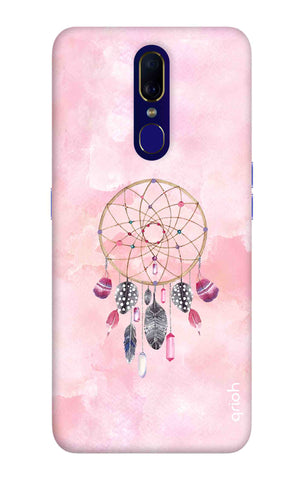 Pink Dreamcatcher Oppo F11 Cases & Covers Online