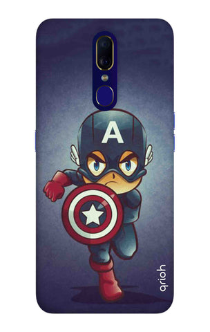 Toy Capt America Oppo F11 Cases & Covers Online