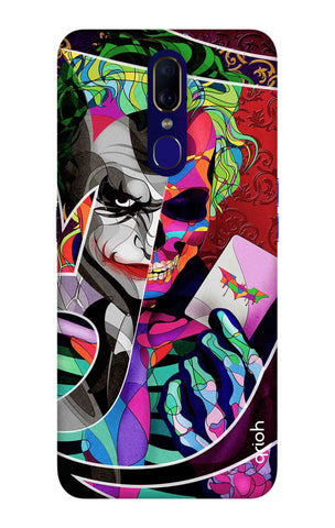 Color Pop Joker Oppo F11 Cases & Covers Online