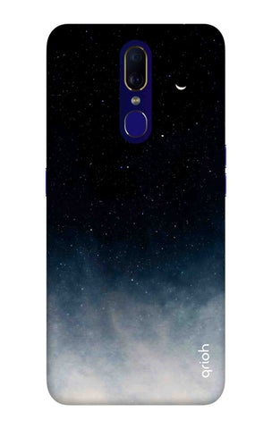 Black Aura Case Oppo F11 Cases & Covers Online