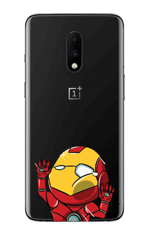 Iron Man Wall Bump OnePlus 7 Cases & Covers Online