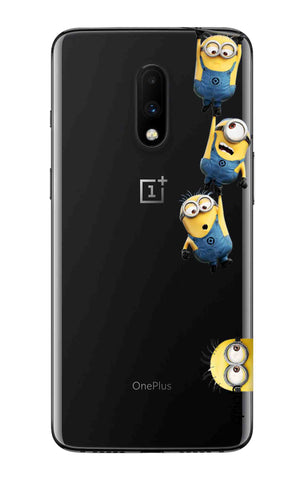 Falling Minions OnePlus 7 Cases & Covers Online
