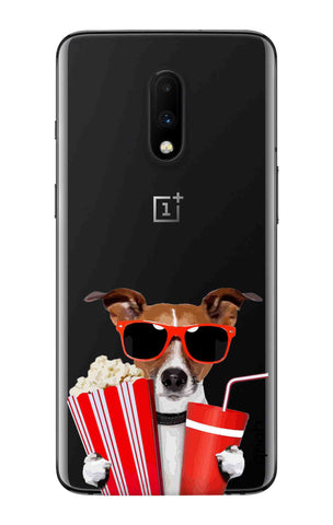 Dog Watching 3D Movie OnePlus 7 Cases & Covers Online