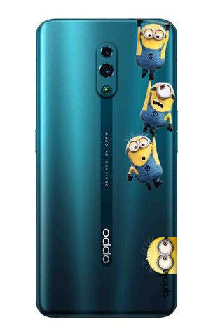 Falling Minions Oppo Reno Cases & Covers Online