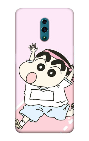 Running Cartoon Oppo Reno Cases & Covers Online