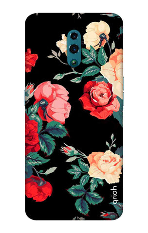 Floral Pattern Oppo Reno Cases & Covers Online