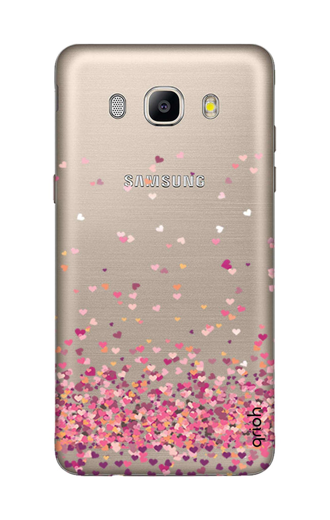 best service a9e0a 69308 Cluster Of Hearts Case for Samsung J5 2016