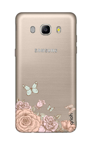 Flower And Butterfly Samsung J5 2016 Cases & Covers Online