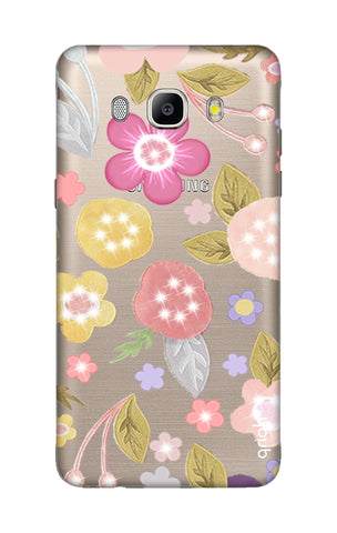 Multi Coloured Bling Floral Samsung J5 2016 Cases & Covers Online