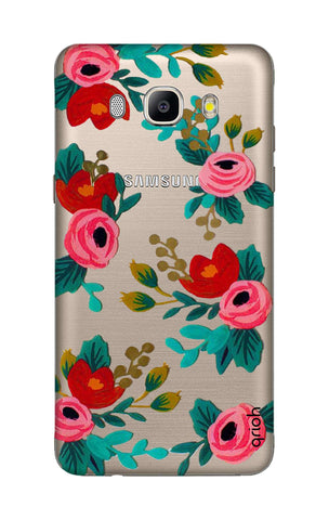 Red Floral Samsung J5 2016 Cases & Covers Online