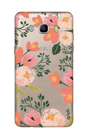 Painted Flora Samsung J5 2016 Cases & Covers Online