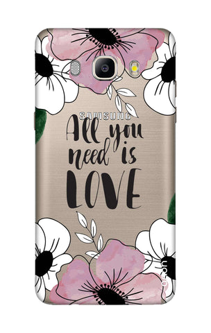 All You Need is Love Samsung J5 2016 Cases & Covers Online