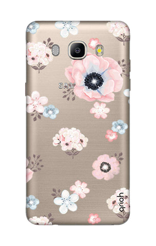 Beautiful White Floral Samsung J5 2016 Cases & Covers Online