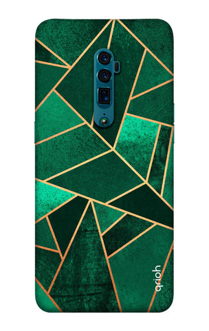 Emerald Tiles Case Oppo Reno 10X zoom Cases & Covers Online