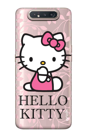 Hello Kitty Floral Samsung Galaxy A80 Cases & Covers Online