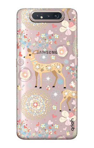 Bling Deer Samsung Galaxy A80 Cases & Covers Online