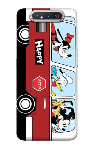 Cartoon Bus Samsung Galaxy A80 Cases & Covers Online