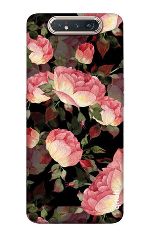 Watercolor Roses Samsung Galaxy A80 Cases & Covers Online