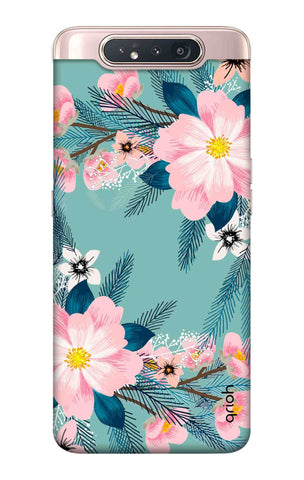 Graceful Floral Case Samsung Galaxy A80 Cases & Covers Online