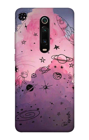 Space Doodles Art Xiaomi Mi 9T Cases & Covers Online