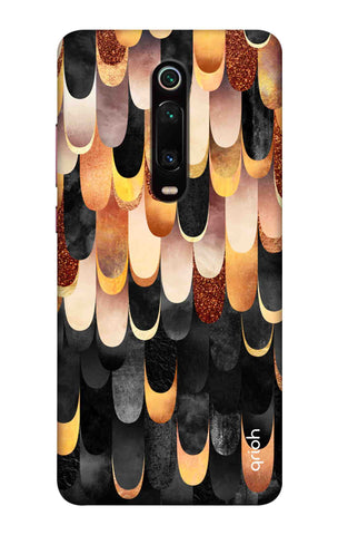 Bronze Abstract Case Xiaomi Mi 9T Cases & Covers Online