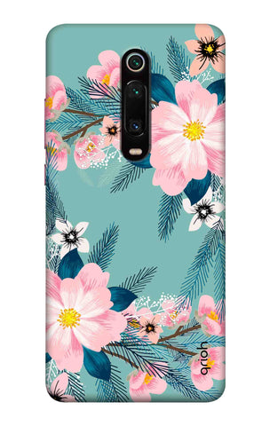 Graceful Floral Case Xiaomi Mi 9T Cases & Covers Online