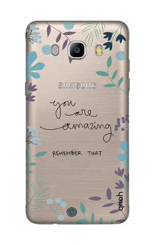 You're Amazing Samsung J7 2016 Cases & Covers Online