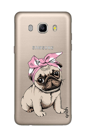 Pink Puggy Samsung J7 2016 Cases & Covers Online