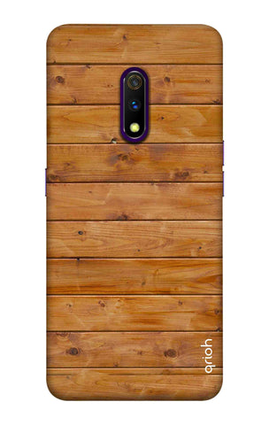 Natural Wood Realme X Cases & Covers Online