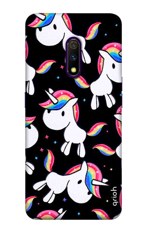Colourful Unicorn Realme X Cases & Covers Online
