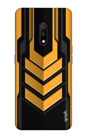 Futuristic Arrow Case Realme X Cases & Covers Online
