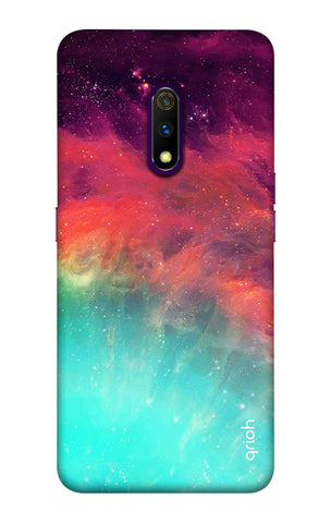 Colourful Aura Case Realme X Cases & Covers Online