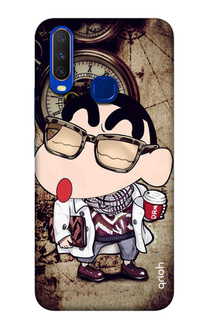 Nerdy Shinchan Vivo Y15 2019 Cases & Covers Online