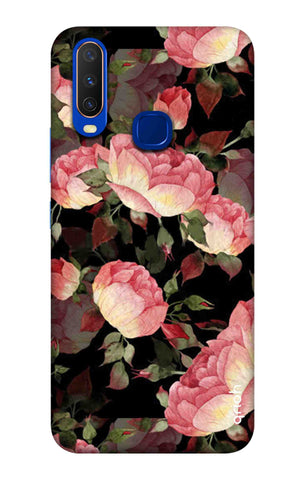 Watercolor Roses Vivo Y15 2019 Cases & Covers Online
