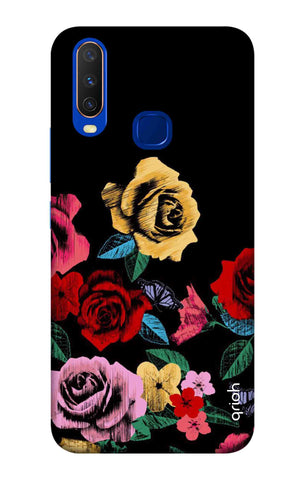 Colorful Flowers Vivo Y15 2019 Cases & Covers Online