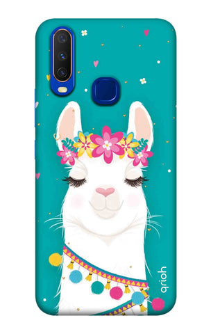 Cute Llama Vivo Y15 2019 Cases & Covers Online