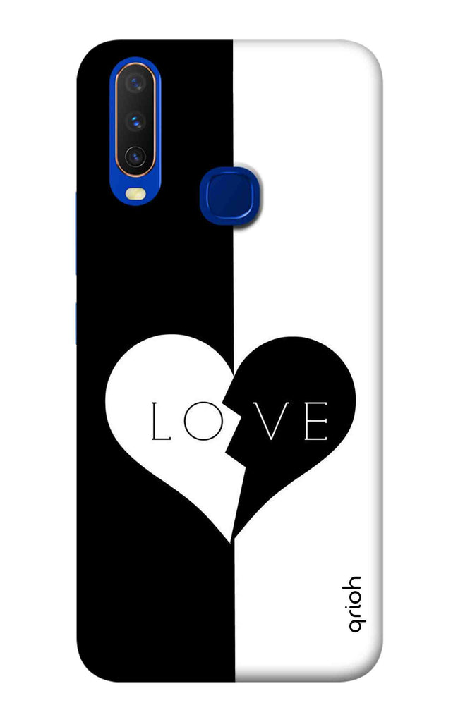 premium selection 1e676 edfdd Love Case for Vivo Y15 2019