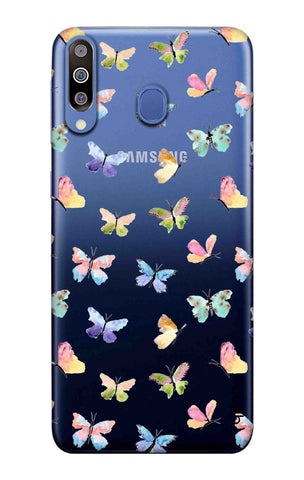 Painted Butterflies Samsung Galaxy M40 Cases & Covers Online