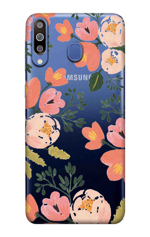 Painted Flora Samsung Galaxy M40 Cases & Covers Online