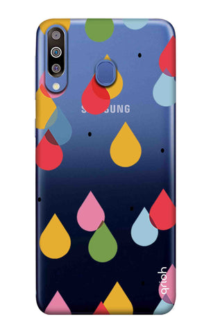Colourful Drops Samsung Galaxy M40 Cases & Covers Online