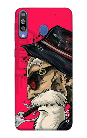 Hipster Oldman Samsung Galaxy M40 Cases & Covers Online