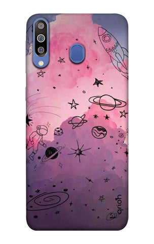 Space Doodles Art Samsung Galaxy M40 Cases & Covers Online