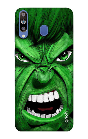 Angry Man Case Samsung Galaxy M40 Cases & Covers Online